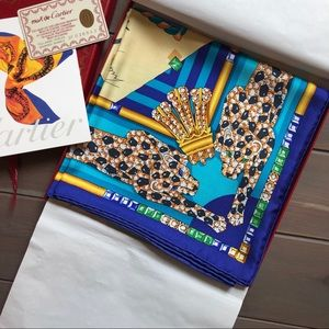 Beautiful Cartier Scarf. Original packaging NWT